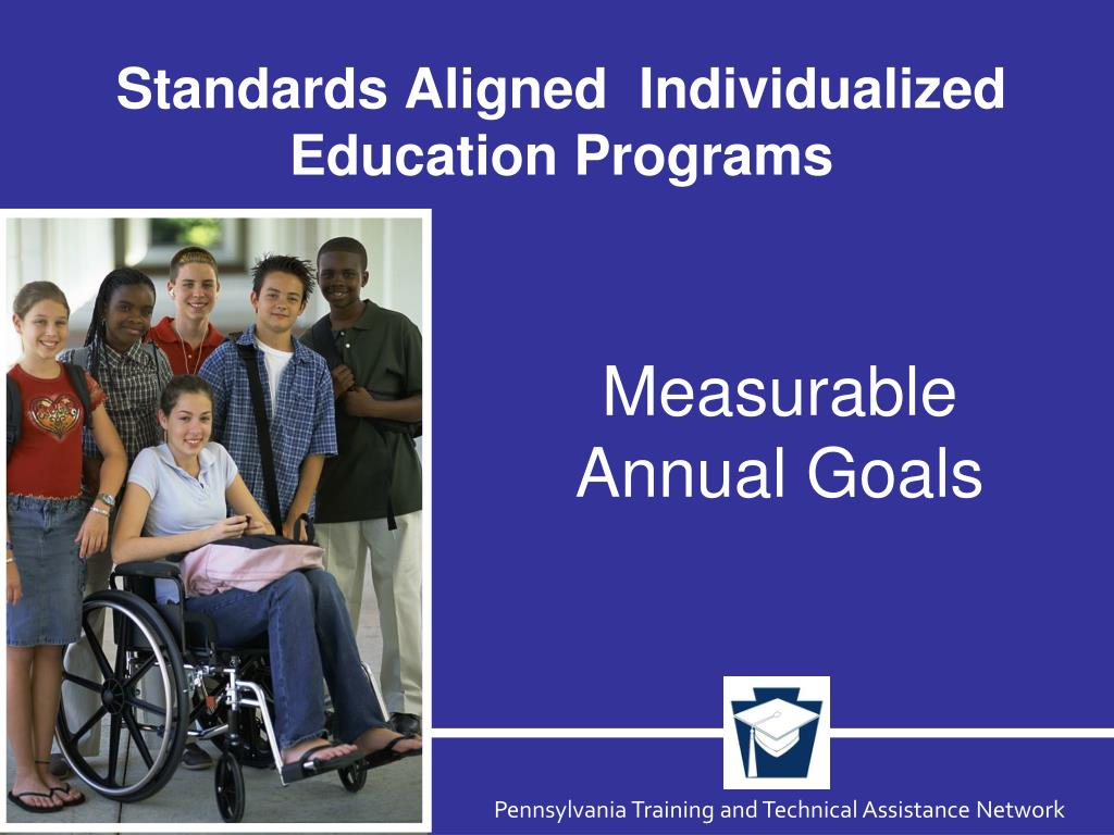 standards aligned individualized education programs l.