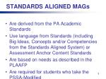 standards aligned mags