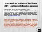 an american institute of architects aia continuing education program3