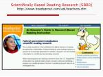 scientifically based reading research sbrr http www headsprout com aol teachers cfm