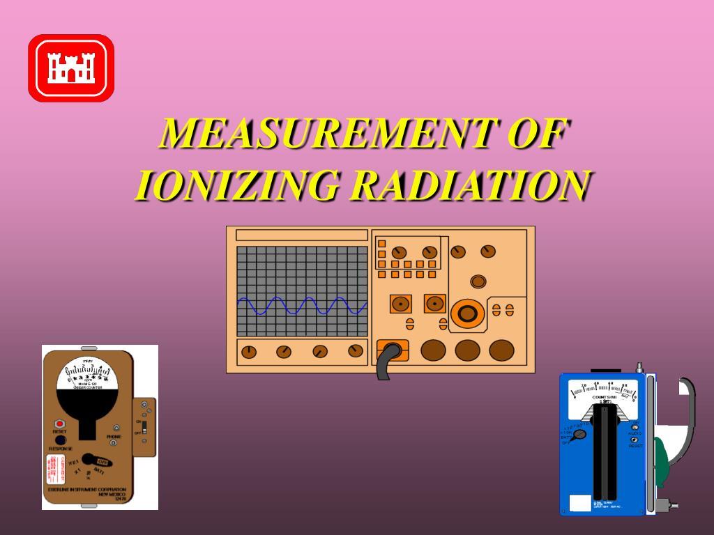 measurement of ionizing radiation l.