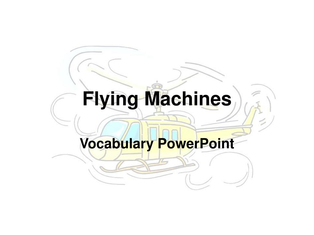 flying machines l.