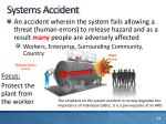 systems accident