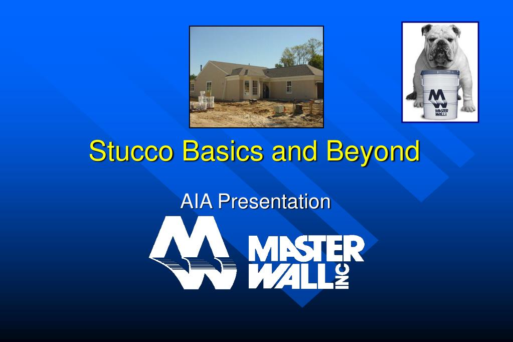 stucco basics and beyond l.