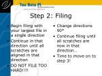 step 2 filing