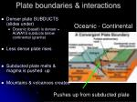 plate boundaries interactions25
