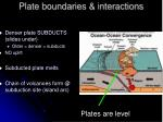 plate boundaries interactions26