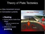 theory of plate tectonics14