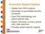 economic impact update