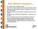 new mexico s airports