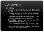 dbs elements4