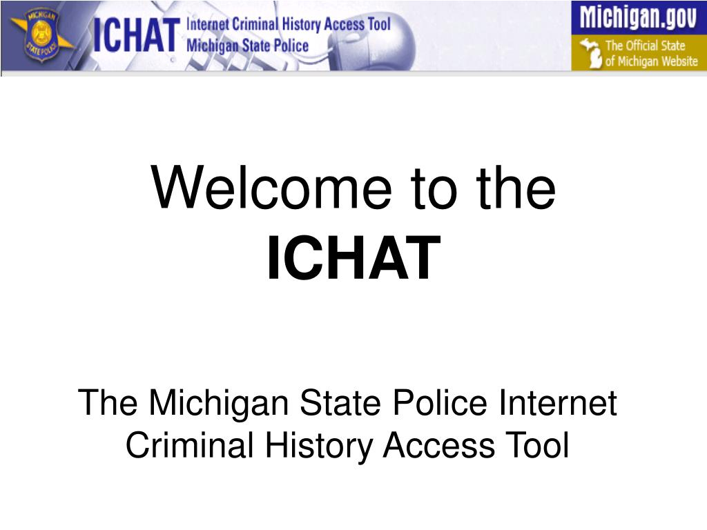 welcome to the ichat l.