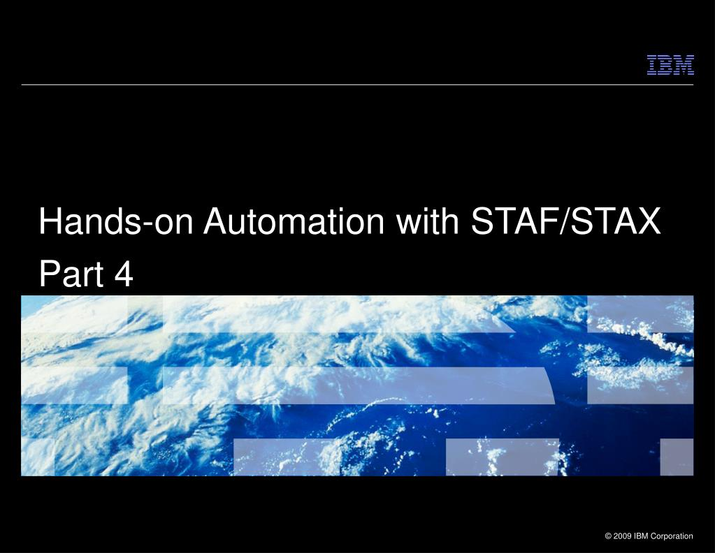 hands on automation with staf stax part 4 l.