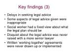 key findings 3