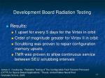 development board radiation testing17