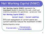 net working capital nwc