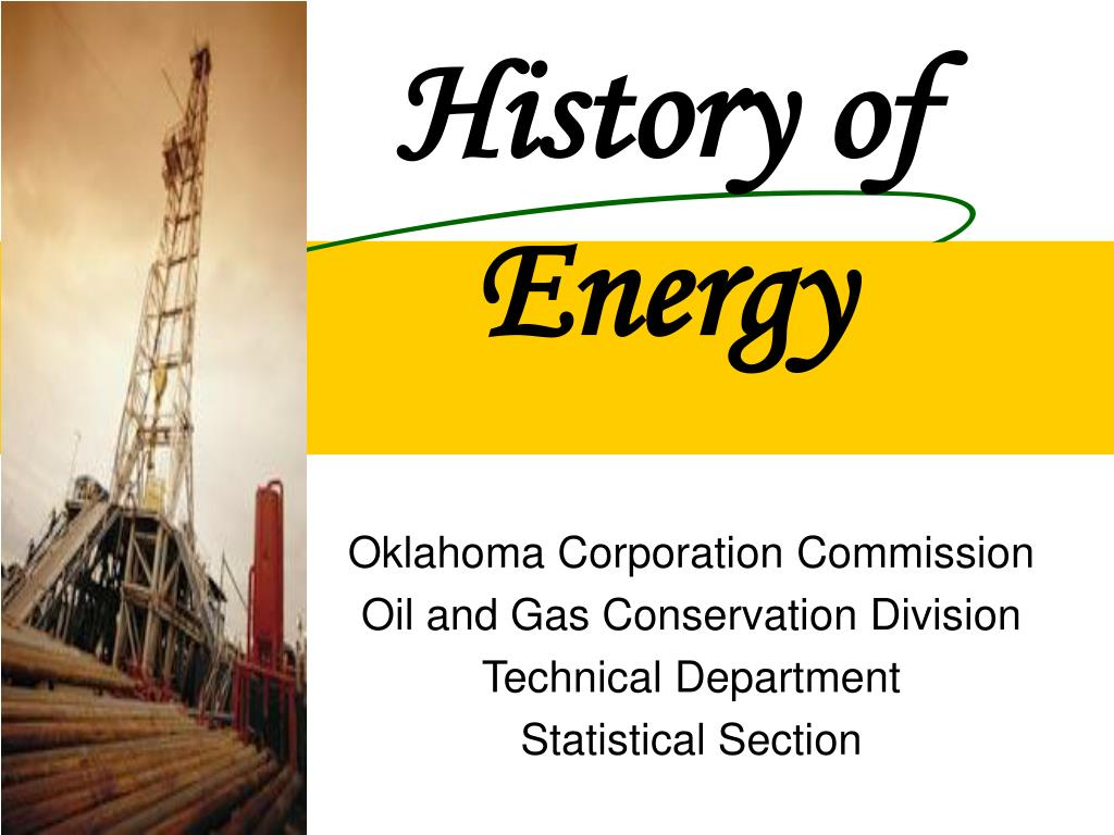 history of energy l.