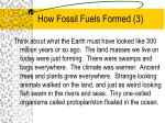 how fossil fuels formed 3