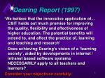 dearing report 1997