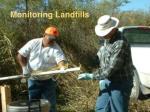 monitoring landfills
