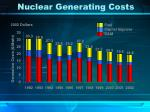 nuclear generating costs