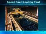 spent fuel cooling pool