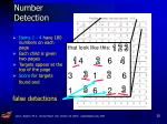 number detection