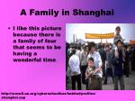 a family in shanghai