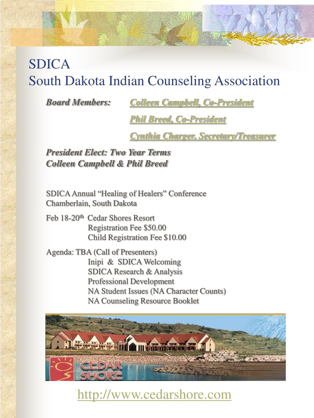 sdica south dakota indian counseling association l.