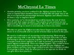 mcchrystal la times