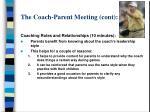 the coach parent meeting cont21