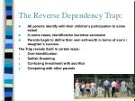 the reverse dependency trap