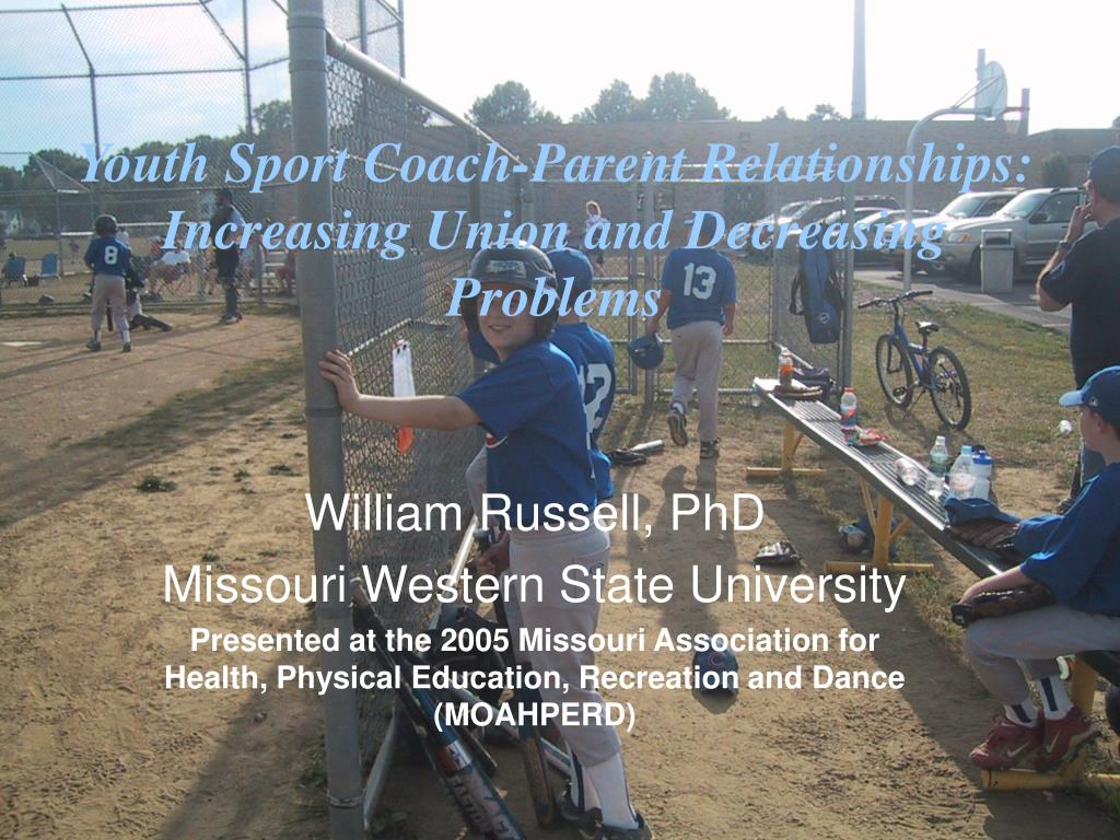 youth sport coach parent relationships increasing union and decreasing problems l.