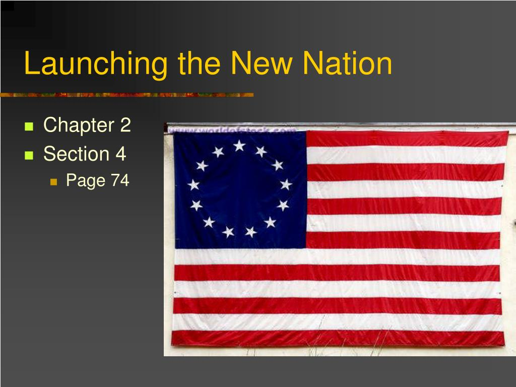 launching the new nation l.