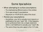 some tips advice28