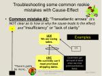 troubleshooting some common rookie mistakes with cause effect6