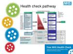 health check pathway