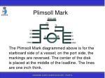 plimsoll mark