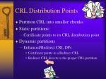crl distribution points