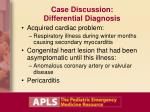 case discussion differential diagnosis