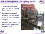 how is birmingham s cbd fighting back10