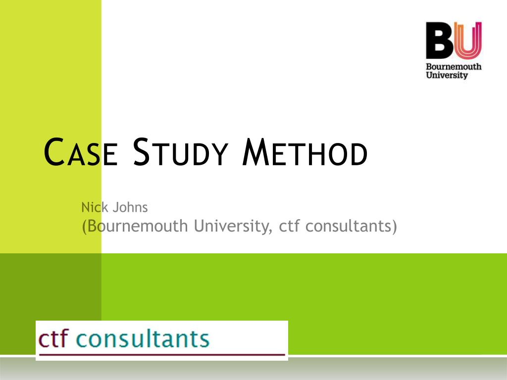 case study method l.