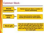 common stock9