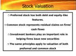 stock valuation50