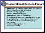 organizational success factors