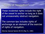 rights of navigation21