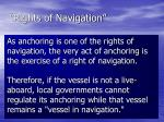 rights of navigation22