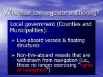 w ho else can regulate anchoring16