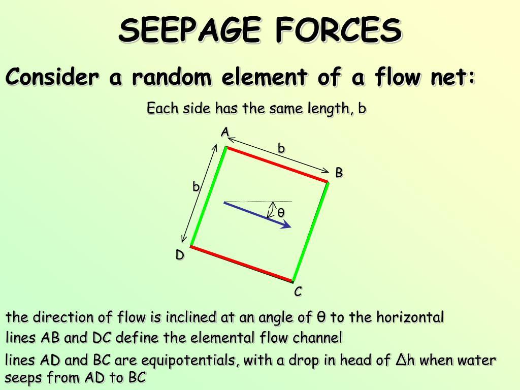 seepage forces l.