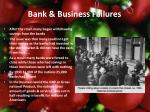 bank business failures